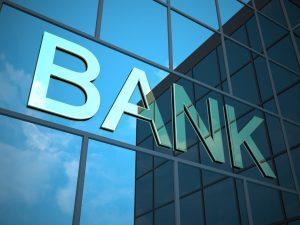 Banka a jej nápis