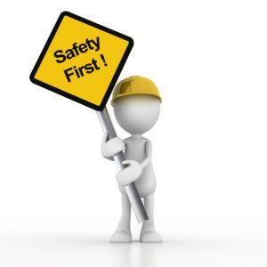 Bezpečnosť na značke